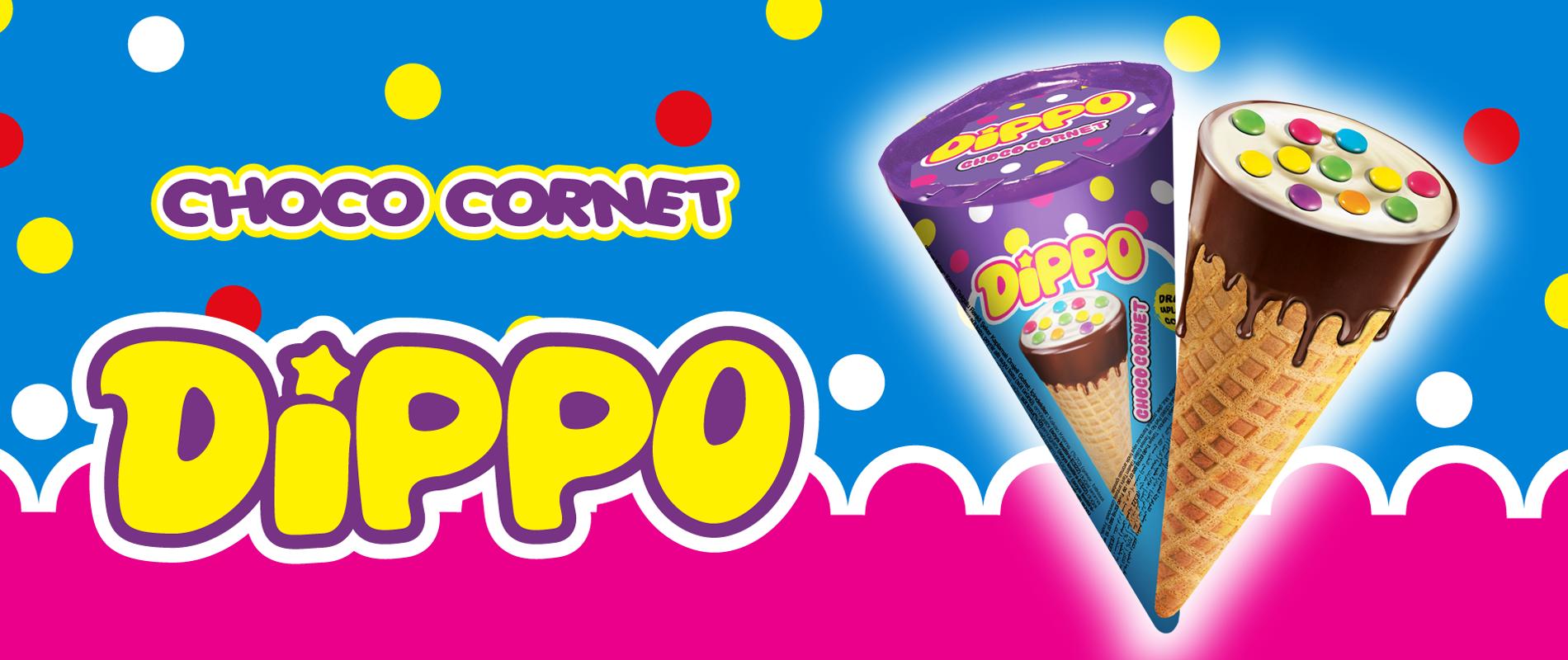 Dippo Cornet Choco 2